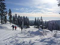 Skilift im Bayerischen Wald