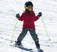 Ski fahren im Bayerischen Wald