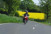 Motorradtour in Bayern