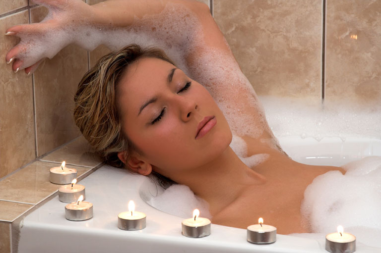 Entspannendes Bad am Hammerhof in Bodenmais